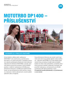 MOTOTRBO DP1400 – PŘÍSLUŠENSTVÍ
