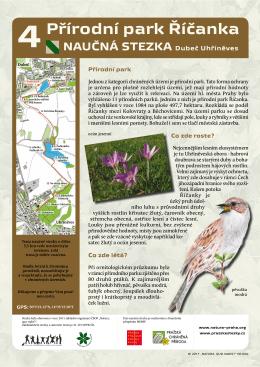 Přírodní park Říčanka