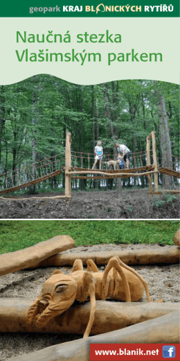 Nauăná stezka Vla‰imsk˘m parkem