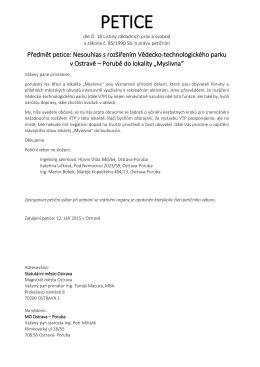 PETICE - e-petice.cz