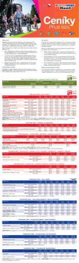 Ceník služeb 2015