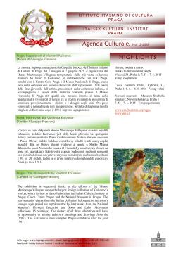 Mostra di Kosvanec - Italský kulturní institut v Praze