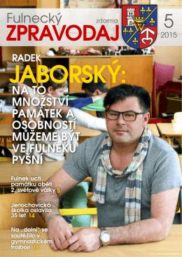 Fulnecký zpravodaj 5/2015
