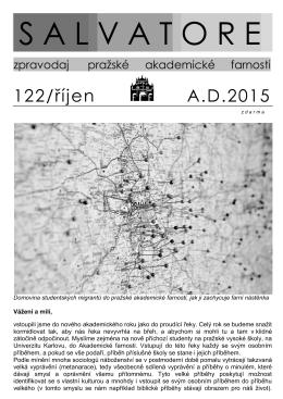 Salvatore - říjen 2015 - Akademická farnost Praha