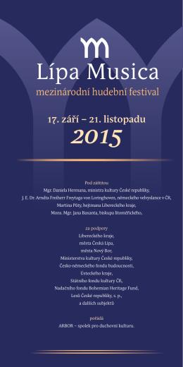 Programový katalog 14. ročníku