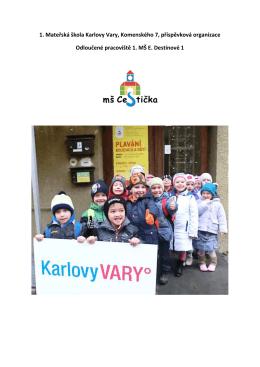 plavání hobit - 1. Mateřská škola Karlovy Vary, Komenského 7