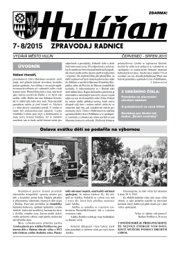 Hulíňan č. 7-8/2015