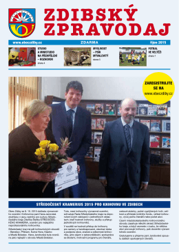 Zdibský zpravodaj č. 6/2015