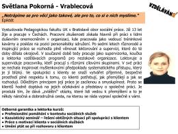 Svetlana Pokorná Vrablecová