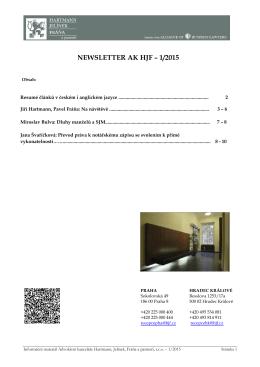 více - HJF - Advokátní kancelář Praha, Hradec Králové