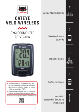 CATEYE VELO WIRELESS