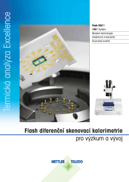 Flash DSC 1 - METTLER TOLEDO