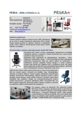 Interní projekty CzechTrade: SVV, Design pro