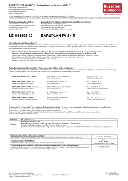 LE-H51305-02 BARUPLAN PV S4 R