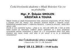 KA Krestan a touha - Sbor Jednoty bratrské v Mladé Boleslavi