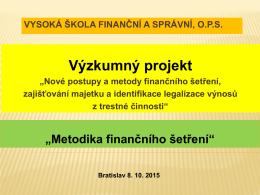 Finanční šetření