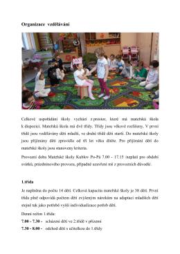 Organizace vzdělávání