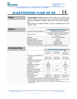 ELASTOPHENE FLAM 40 AR