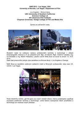 NAB 2013 - Las Vegas, USA