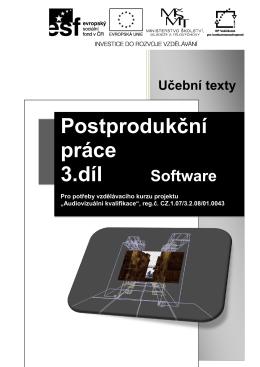 3) učební texty – Software