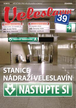 stanice nádraží veleslavín nastupte si 5/2015