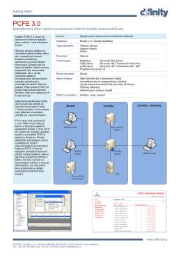produktový list v PDF