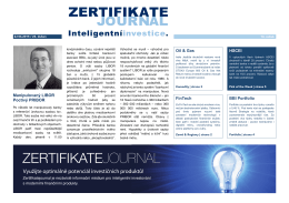 vydání 06/2015 - ZertifikateJournal