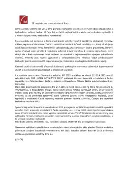 Doprovodné akce CTI ČR