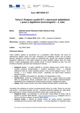 ICT KA5 Pozvánka-Metodik ICT