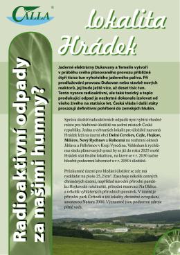 lokalita Hrádek lokalita Hrádek