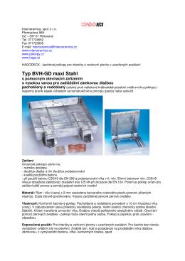 Typ BVH-GD maxi Stahl
