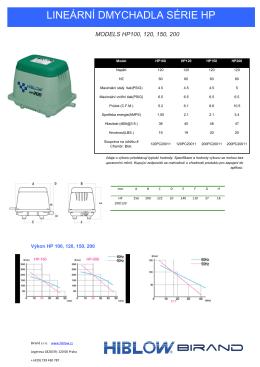 MODELS HP 100-200