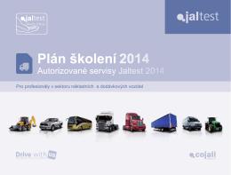 Plán školení 2014