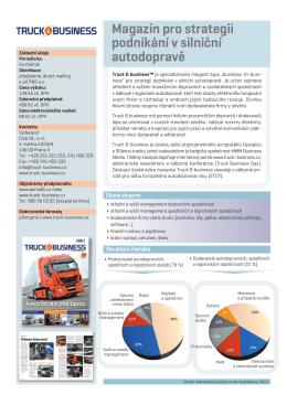Česky - Truck & Business