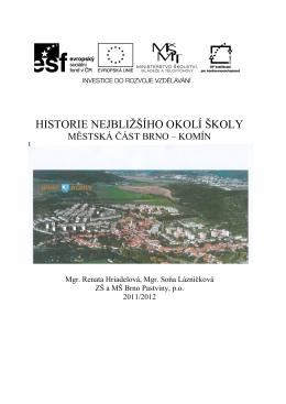 Projektova dokumentace Historie Komina