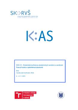 KAS 4.0 - Studentská konference akademických senátorů a senátorek
