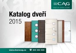 Katalog CAG 2015