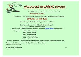 Václavské závody 2015