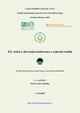3. cirkulář - Agrobiologie