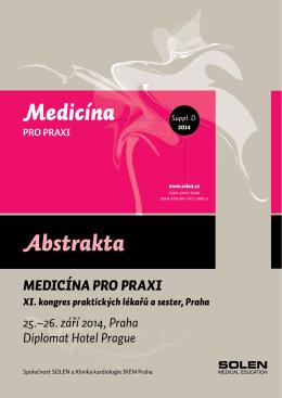 Sborník abstrakt - Interní medicína pro praxi