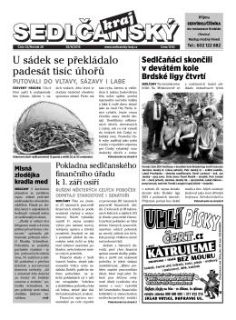 Sedlčanský kraj 32/2015