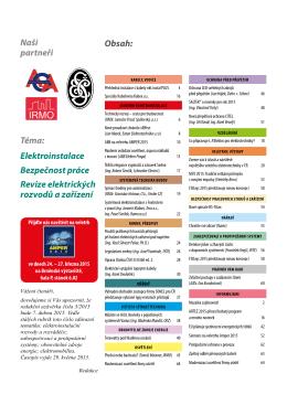 Elektroinstalatér 2/2015 - TZB-info