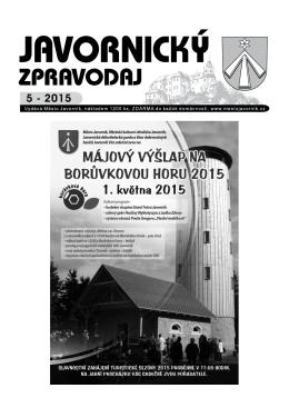 jz 05 15 - Město Javorník