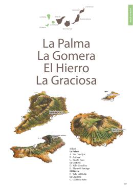 La Palma La Gomera El Hierro La Graciosa