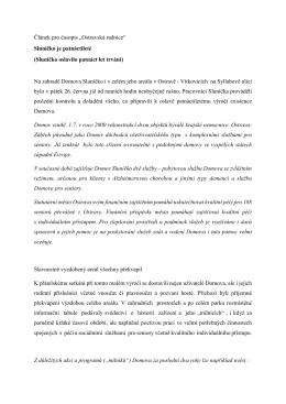 Článek Sluníčko pro Ostravskou radnici
