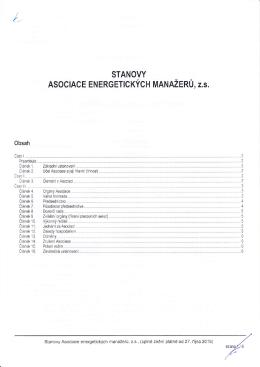 """""""Stanovy AEM"""" ke stažení ve formátu PDF"""
