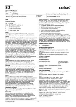 použít 05172179 190 Serum Index Gen.2 (3000 testů)