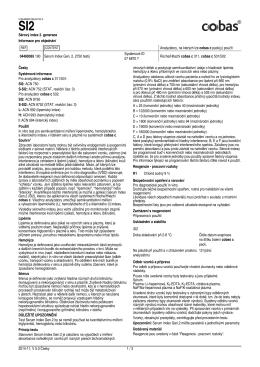 použít 04489365 190 Serum Index Gen. 2, 2750 testů