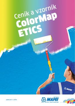 Mapei ColorMap ceník 2015 - Chytré stavební materiály