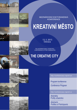 THE CREATIVE CITY - Ostrava